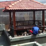 Jasa Pembuatan Gazebo Murah di Aek Kanopan