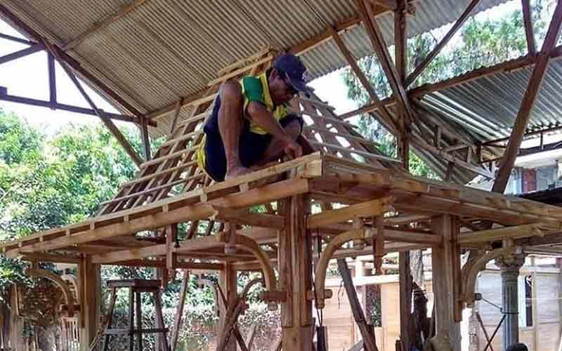 Jasa Pembuatan Gazebo Murah di Purwakarta