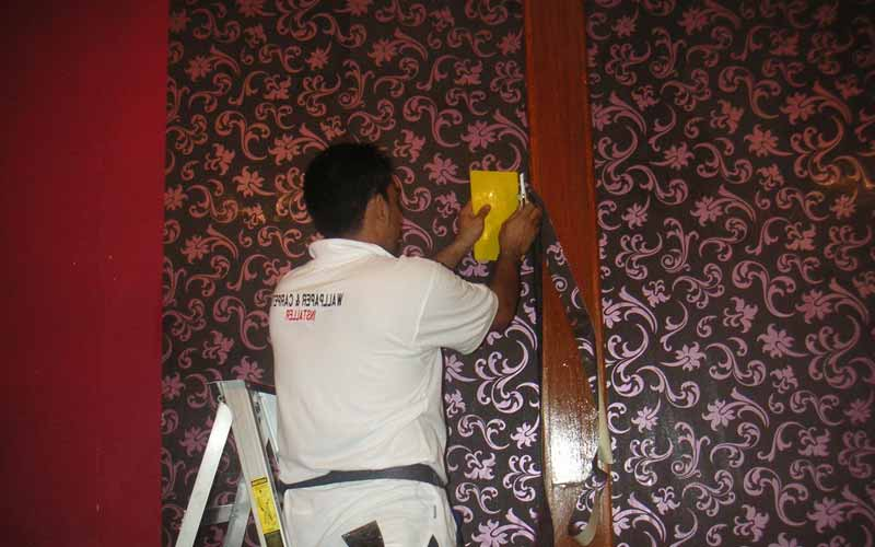 Jasa Pasang Walpaper Dinding di Bengkalis