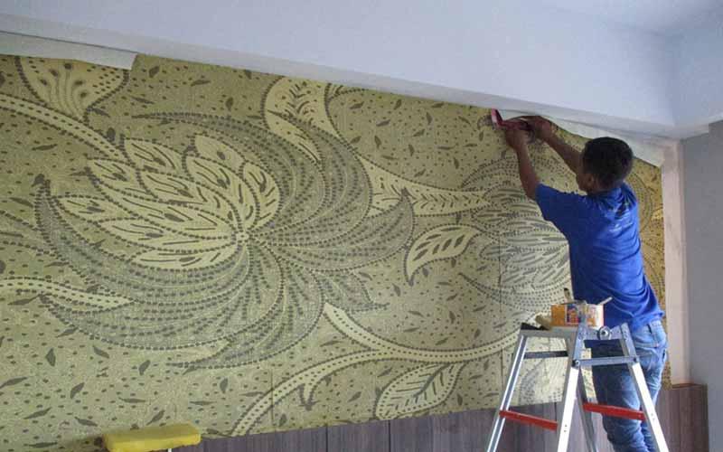 Jasa Pemasangan Wallpaper Dinding di Purwakarta