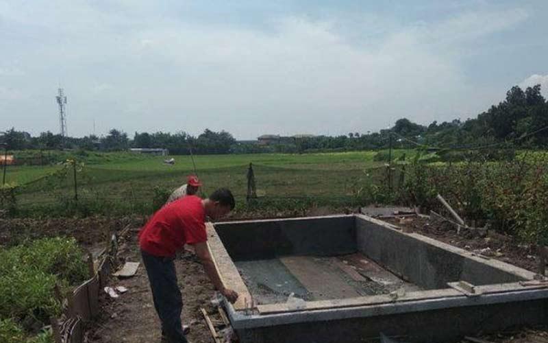 Jasa Pembuatan Kolam Ikan di Palembang