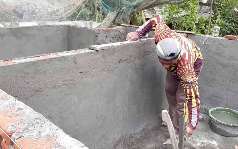 Jasa Pembuatan Kolam Ikan di Surabaya