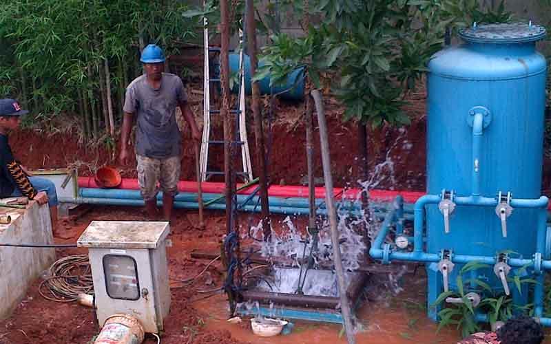 Jasa Pengeboran Sumur Bor di Padang