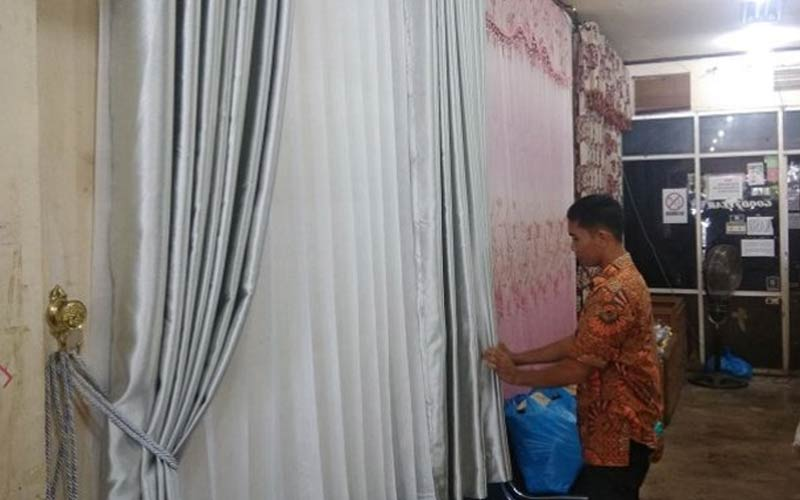 Jasa Pemasangan Gorden Murah di Palembang